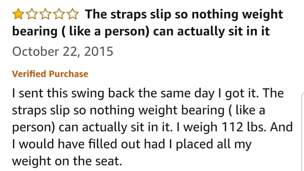 Is this the real swing review?