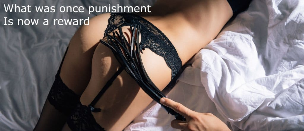 what was once punishment is now pleasure. bdsm and bondage sex